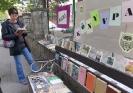Könyvcsere akció a könyvtár előtt - 2013. október 9.